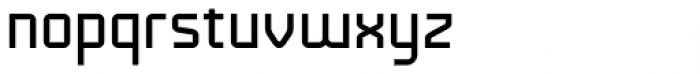 Technical Standard VP Regular Font LOWERCASE