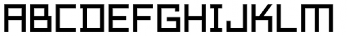 Technikolor Font LOWERCASE