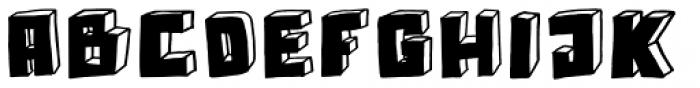 Technojunk Font UPPERCASE