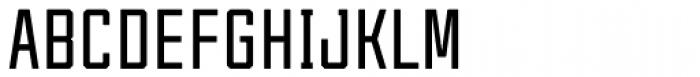 Tecnica Bold Font UPPERCASE