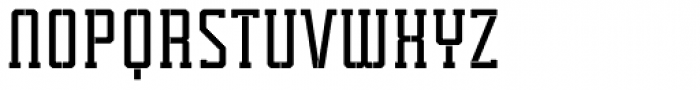 Tecnica Slab Stencil 1 Bd Alt Font UPPERCASE
