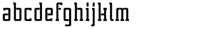 Tecnica Slab Stencil 1 Bd Alt Font LOWERCASE