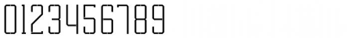 Tecnica Slab Stencil 1 Rg Alt  Font OTHER CHARS