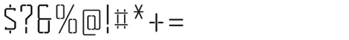 Tecnica Slab Stencil 2 Rg Alt Font OTHER CHARS