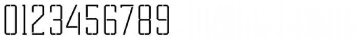 Tecnica Slab Stencil 2 Rg Font OTHER CHARS