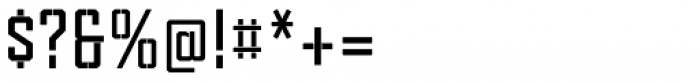 Tecnica Stencil 1 Bd Font OTHER CHARS