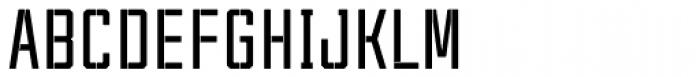 Tecnica Stencil 1 Bd Font UPPERCASE
