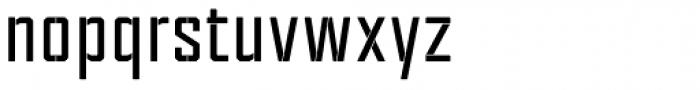 Tecnica Stencil 1 Bd Font LOWERCASE
