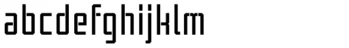 Tecnica Stencil 2 Bd Alt Font LOWERCASE