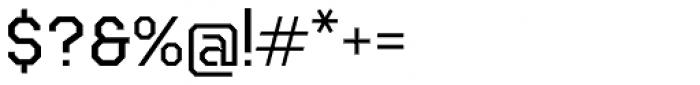 Teco Serif Light Font OTHER CHARS