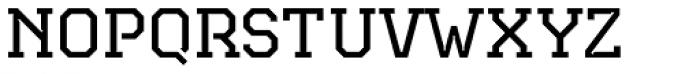 Teco Serif Light Font UPPERCASE