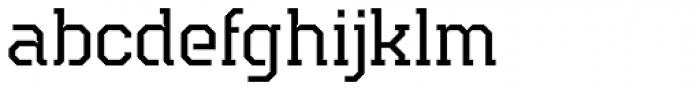 Teco Serif Light Font LOWERCASE
