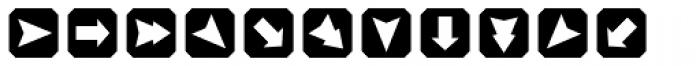 TecoSymbol Font UPPERCASE