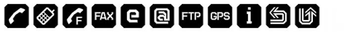 TecoSymbol Font LOWERCASE