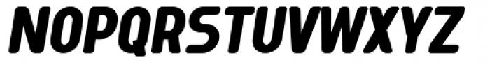Tecpana Bold Italic Font UPPERCASE