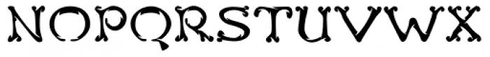 Teebone Front Font UPPERCASE