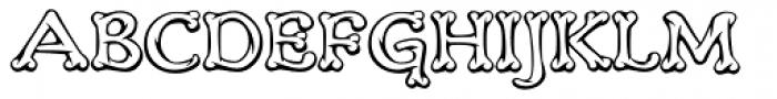 Teebone Middle Font UPPERCASE