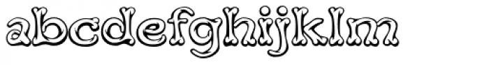 Teebone Middle Font LOWERCASE