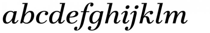 Teimer Italic Font LOWERCASE
