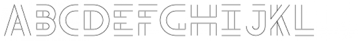 Teip Open Light Font LOWERCASE