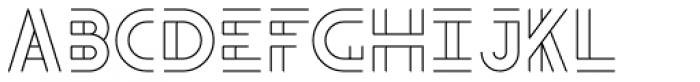 Teip Open Regular Font LOWERCASE