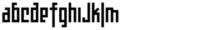 Teknobe Font LOWERCASE