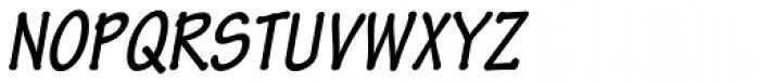 Tekton Pro Cond Bold Obl Font UPPERCASE