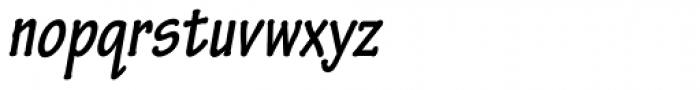 Tekton Pro Cond Bold Obl Font LOWERCASE