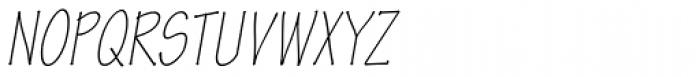 Tekton Pro Cond Light Obl Font UPPERCASE