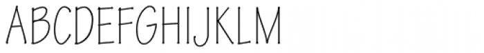 Tekton Pro Condensed Light Font UPPERCASE
