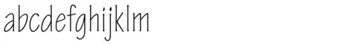 Tekton Pro Condensed Light Font LOWERCASE