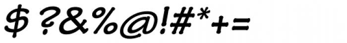 Tekton Pro Ext Bold Obl Font OTHER CHARS