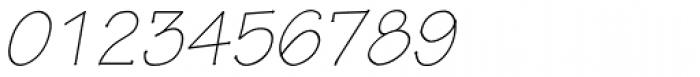 Tekton Pro Light Obl Font OTHER CHARS