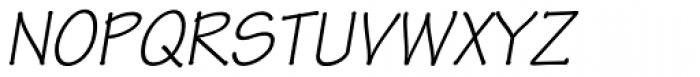 Tekton Pro Oblique Font UPPERCASE