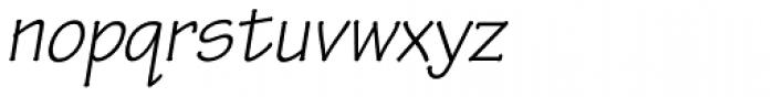 Tekton Pro Oblique Font LOWERCASE