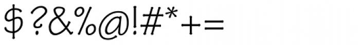 Tekton Pro Regular Font OTHER CHARS