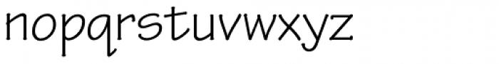 Tekton Pro Regular Font LOWERCASE