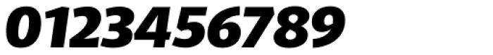 Telder HT Pro Black Italic Font OTHER CHARS