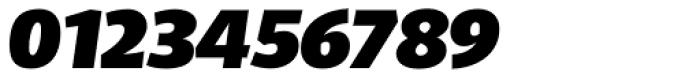 Telder HT Pro Heavy Italic Font OTHER CHARS