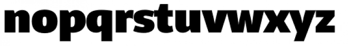 Telder HT Pro Heavy Font LOWERCASE