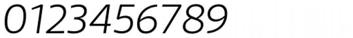 Telder HT Pro Light Italic Font OTHER CHARS
