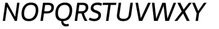 Telder HT Pro Medium Italic Font UPPERCASE