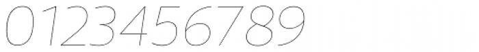 Telder HT Pro Thin Italic Font OTHER CHARS