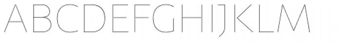 Telder HT Pro Thin Font UPPERCASE
