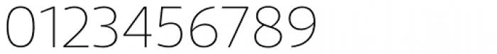 Telder HT Pro Ultra Light Font OTHER CHARS