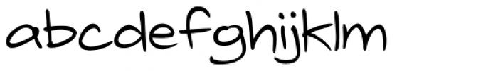Telefante Regular Font LOWERCASE
