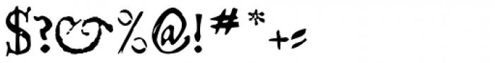 Telegdi Pro SmallCaps Font OTHER CHARS