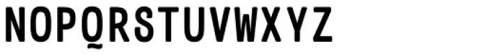 Telegramo A Bold Font UPPERCASE