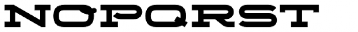 Telemark Bold Font LOWERCASE