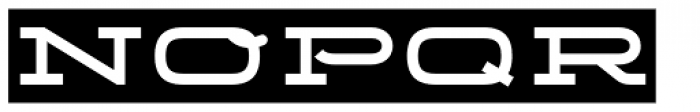 Telemark Label Bold Font UPPERCASE